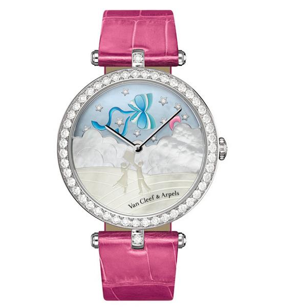 梵克雅宝诗意复杂功能腕表系列 纸鸢图案腕表