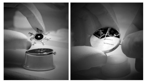 梵克雅宝诗意复杂功能系列,腕表机芯赋予一天的日程生命