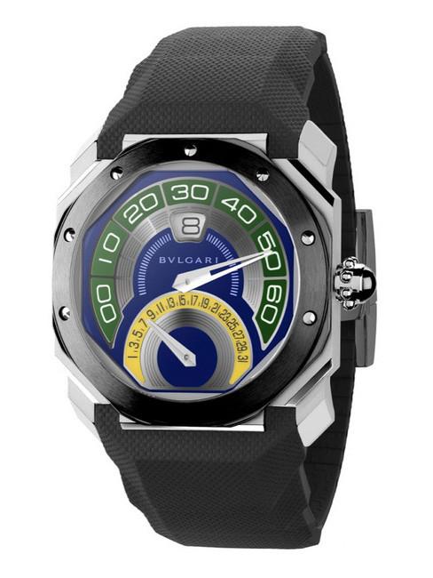 宝格丽全新发布Octo Bi-Retro Brazil世界杯纪念腕表