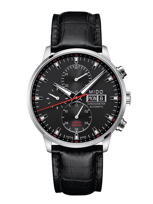 美度指挥官系列95周年限量款计时腕表