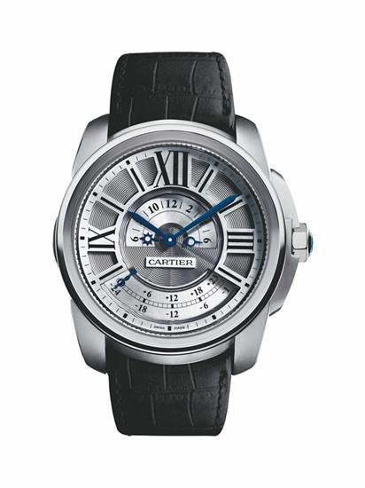深度品评卡地亚Cartier Calibre多时区腕表