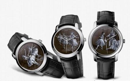 江诗丹顿珐琅彩绘腕表 永恒优雅的典范