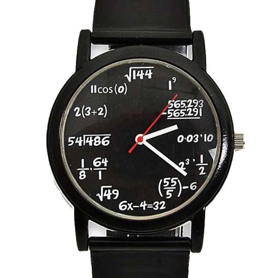 数字手表:让时间隐藏在公式中