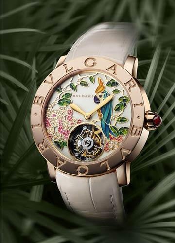 宝格丽首款女士超复杂功能腕表