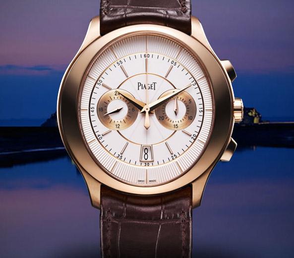 简评伯爵Gouverneur系列G0A37112计时腕表