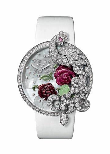 卡地亚 Les Indomptables de Cartier孔雀装饰腕表
