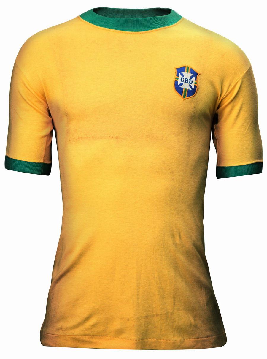东道主巴西队主场球衣-给球衣配款腕表图片