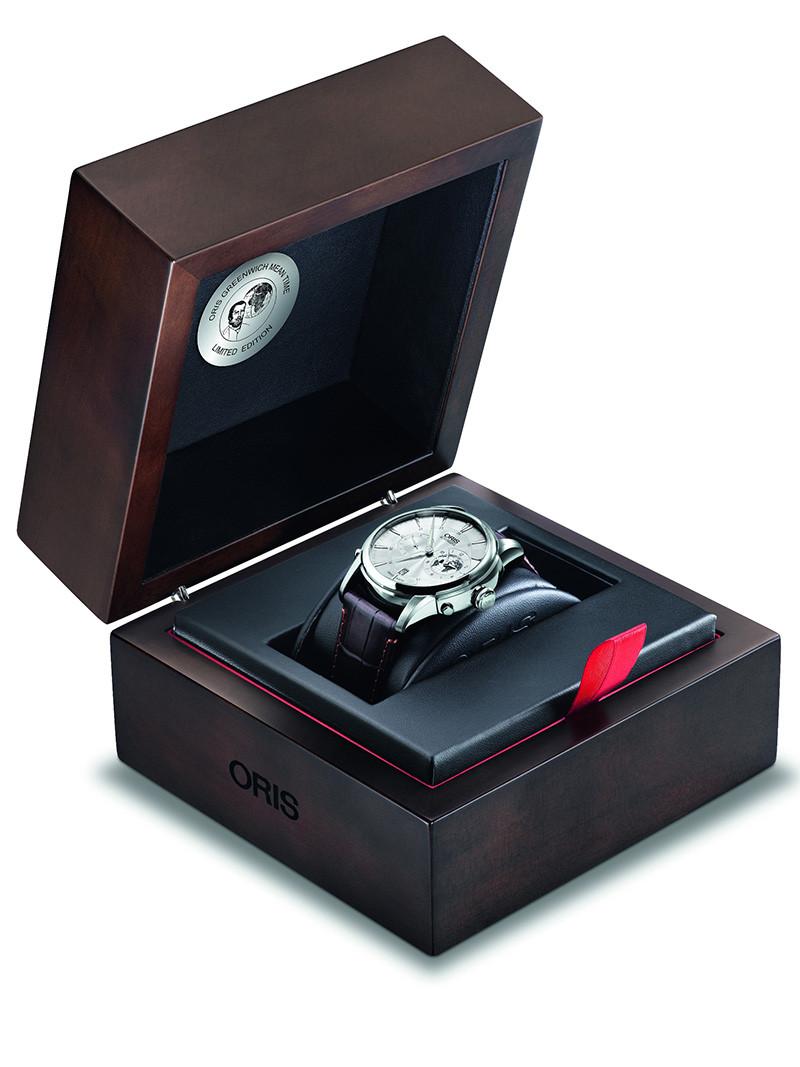 豪利时全新GMT限量腕表