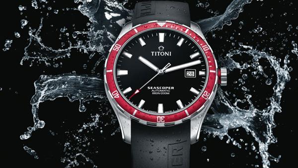 Titoni 梅花推出全新Seascoper潜水腕表