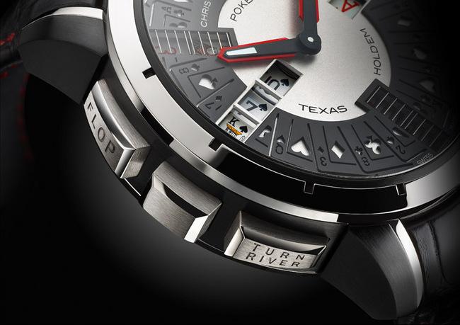 Christophe Claret(柯籁天音)Poker 腕表