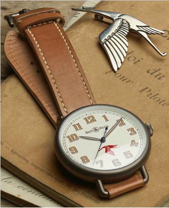 柏莱士为纪念法国传奇飞行员的限量版复刻腕表