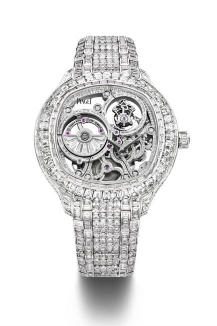 伯爵表钟表与奇迹预热:镶钻陀飞轮腕表