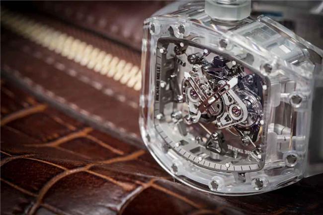 RM 56-02蓝宝石水晶陀飞轮腕表