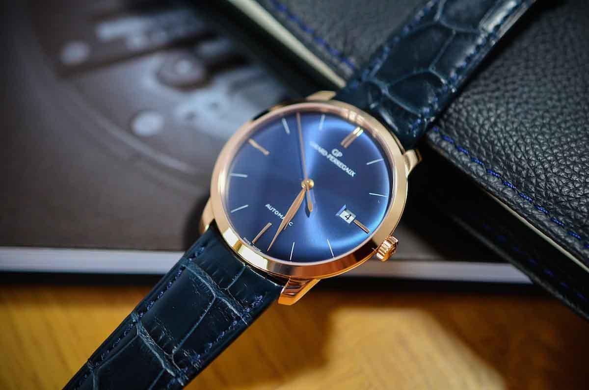 商务优雅之选:芝柏1966系列蓝色表盘腕表