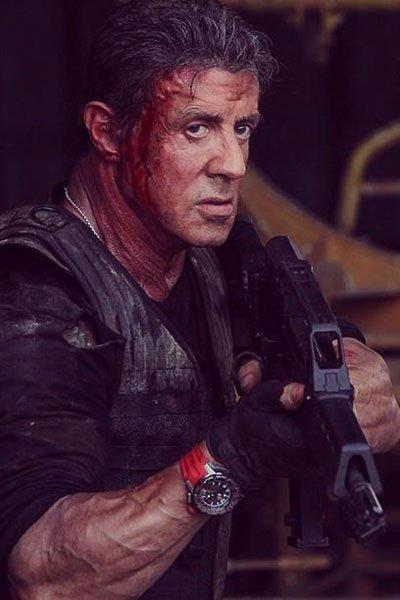 《敢死队3》史泰龙甘当绿叶,RM025腕表作伴