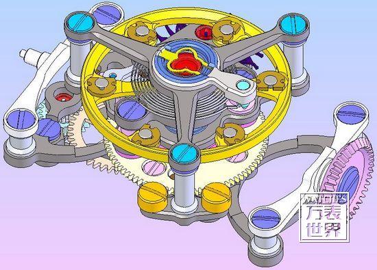 奇翼陀飞轮一号进化版前视图