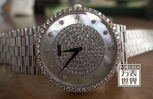 如何保养高端钻石表?