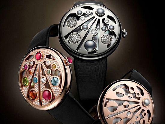 隐藏式高级珠宝腕表