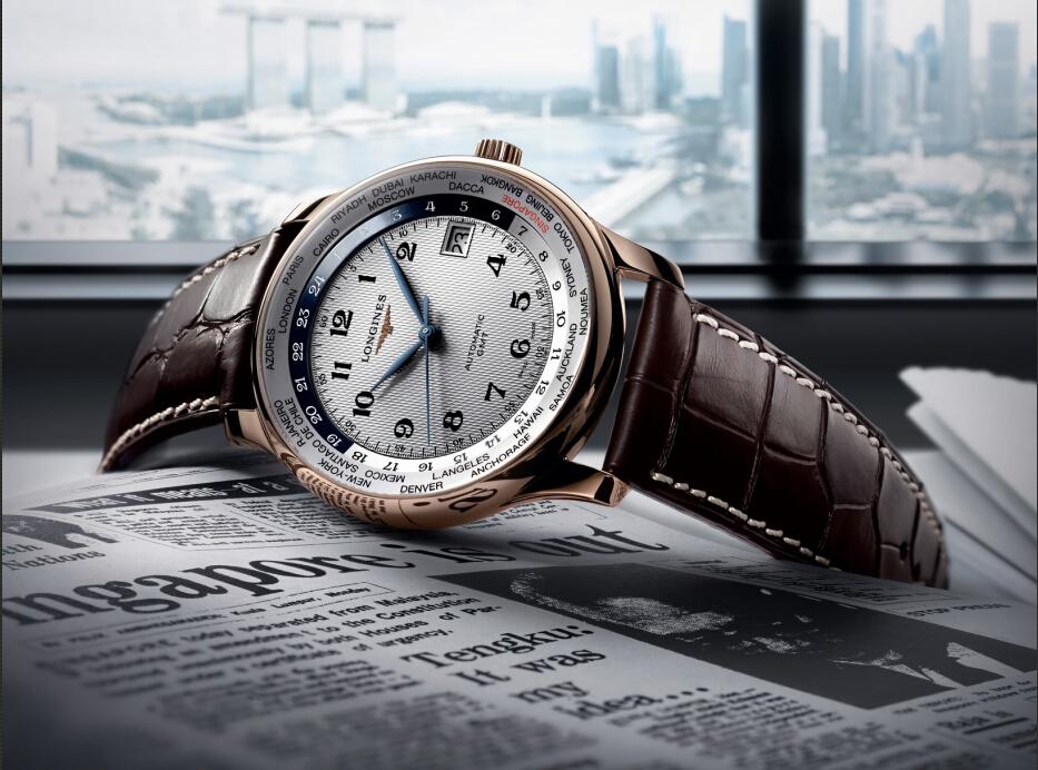 浪琴表新品——名匠系列GMT世界时新加坡纪念限量腕表