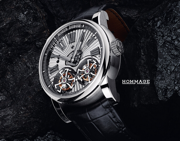 HommageAutomatic 自动上链腕表——以当代手法展现传统的典雅别致