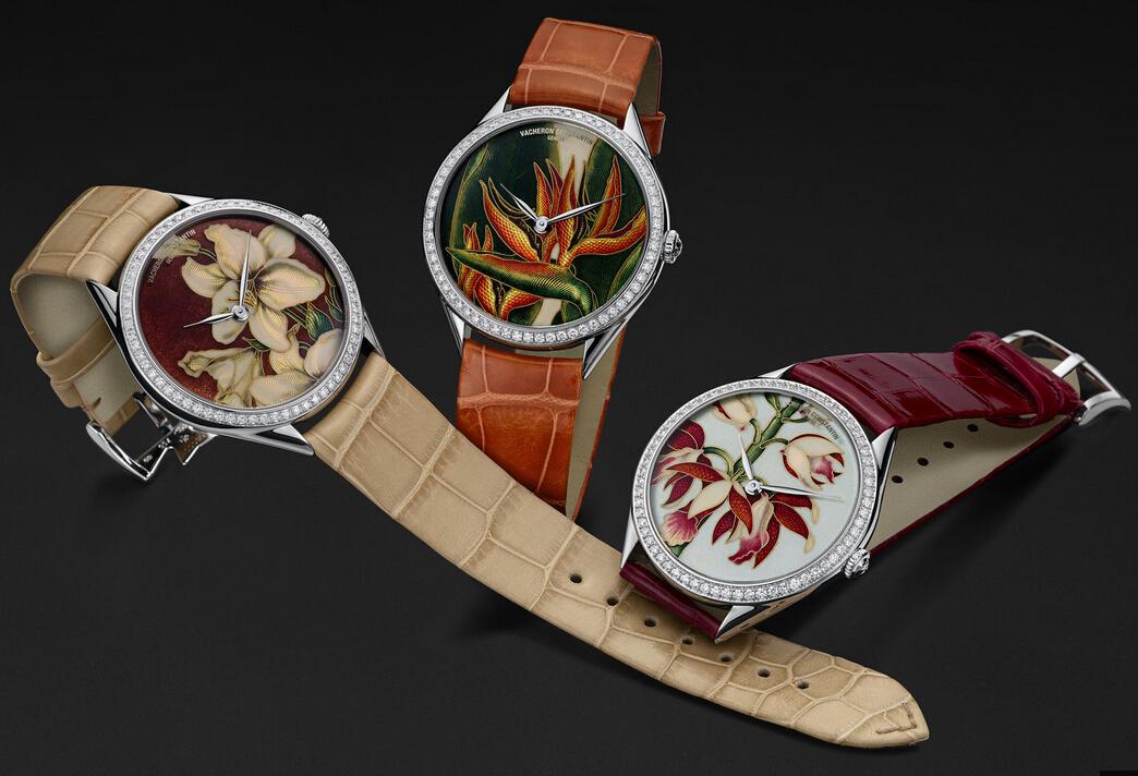 江诗丹顿手表--花卉艺术融合于腕表