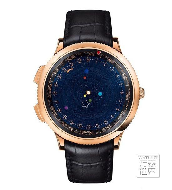 梵克雅宝推出天文主题腕表 价格高昂精美绝伦