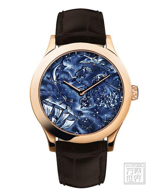 以南半球夜空为主题的Midnight Nuit Australe腕表是对16至18世纪的科学家及航海家的致敬之作