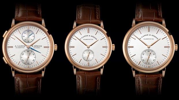 全新设计语言:朗格表全新SAXONIA腕表
