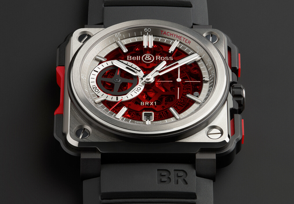 BR-X1 SKELETON CHRONOGRAPH-RED EDITION 红色限量版腕表
