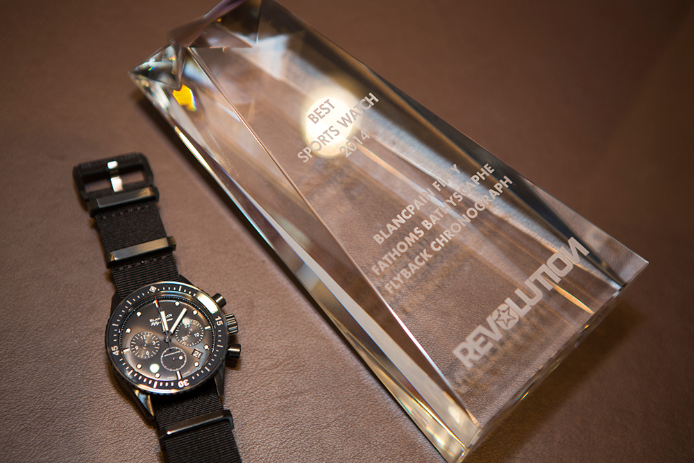 Blancpain宝珀再获两项行业大奖