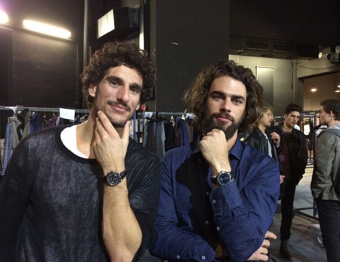 """名士表亮相马德里时装周,西班牙著名设计师品牌携手瑞士高级制表品牌名士演绎""""世界时""""系列"""