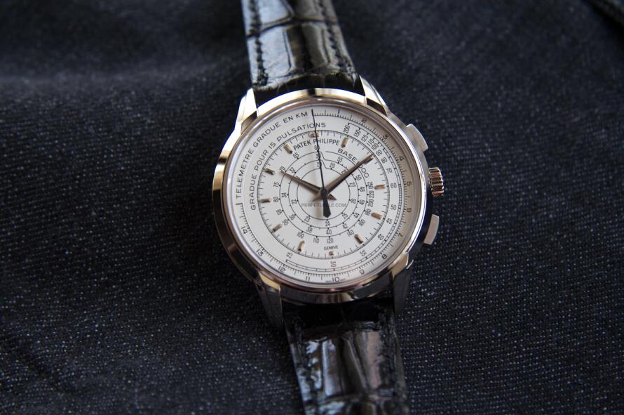 百达翡丽5975 Multi-Scale Chronograph多刻度计时表