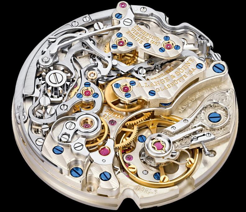 朗格传统制表工艺六大标志元素