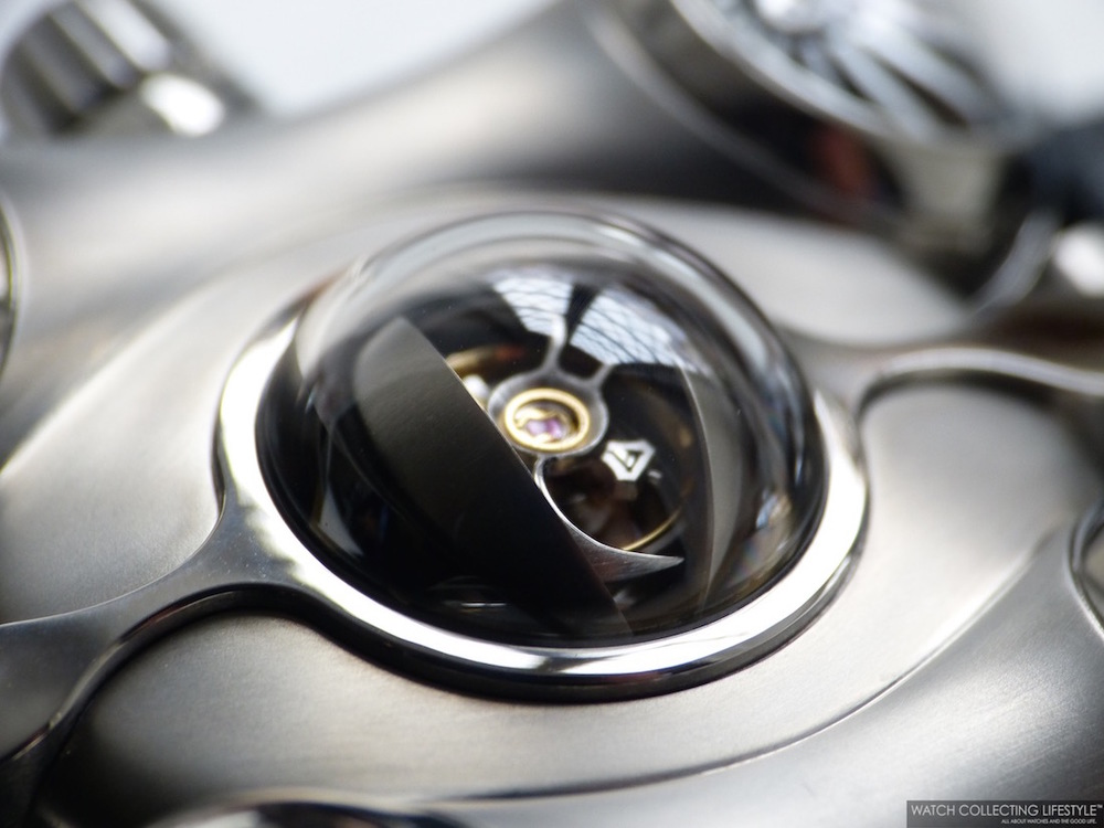 "MB&F Horological Machine No.6""Space Pirate 腕表"