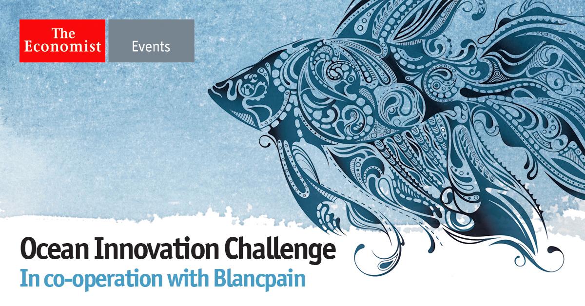 """Blancpain宝珀联手《经济学人》发起""""海洋创新挑战赛"""""""