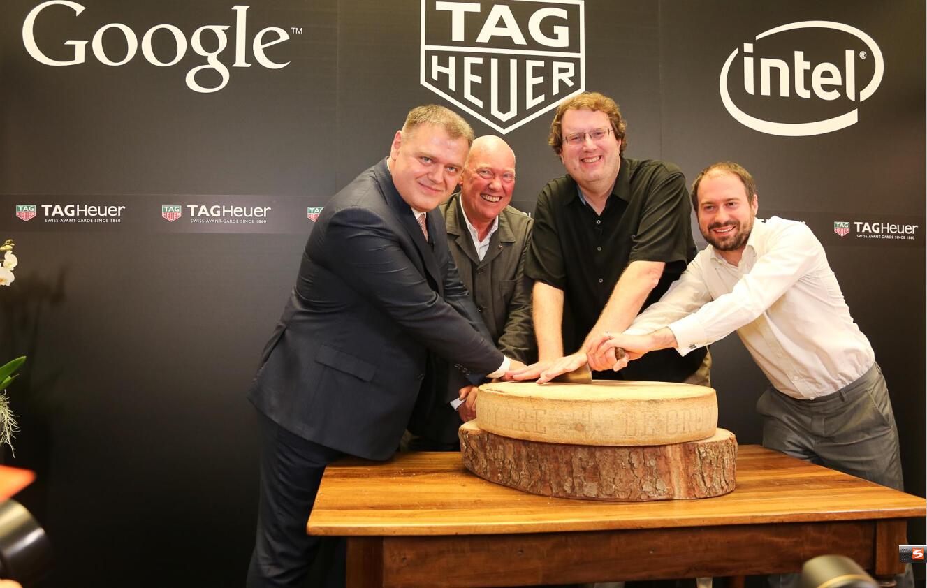 泰格豪雅、谷歌和英特尔宣布合作开发瑞士智能手表