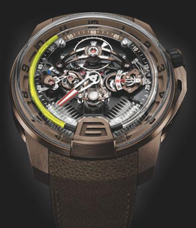 HYT - 2015巴塞尔钟表展新表发布 腕表勇于创新突破传统