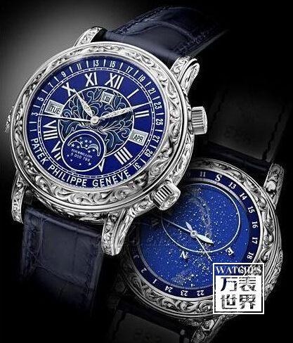 百达翡丽最贵的手表多少钱