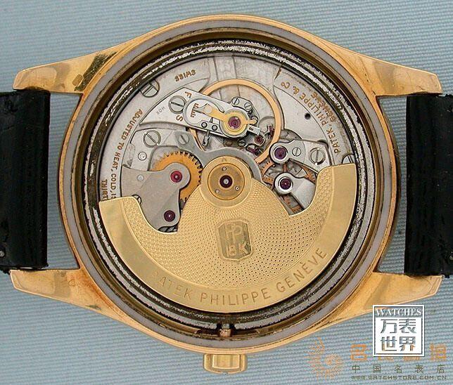 百达翡丽早期腕表上也用过的鹅颈微调