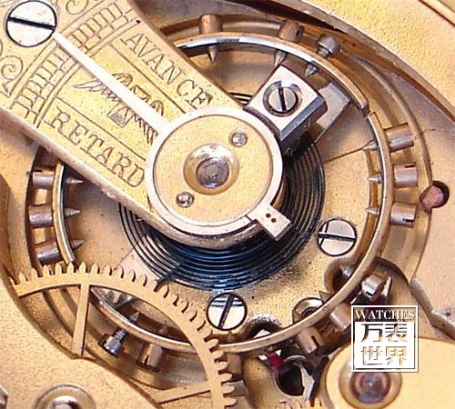 学会审视手表的核心——微调装置