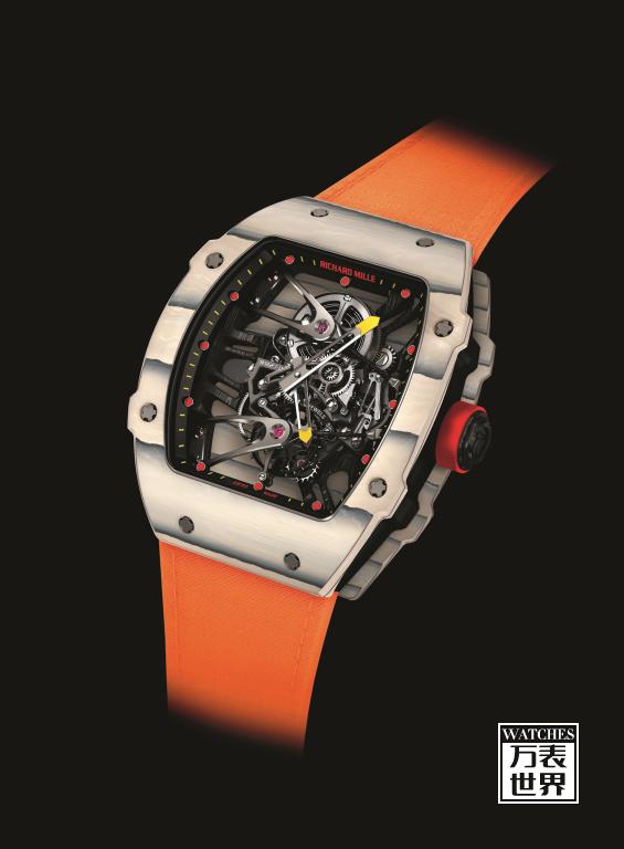 助力纳达尔十冠王之路,Richard Mille推出RM 27-02 RAFAEL NADAL纳达尔陀飞轮腕表