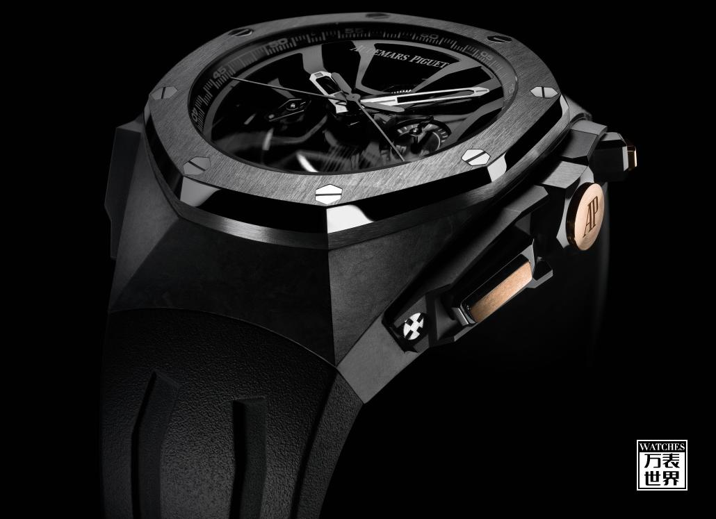 向 F1 赛道传奇迈克尔•舒马赫致敬,爱彼推出限量款皇家橡树圈速计时概念腕表