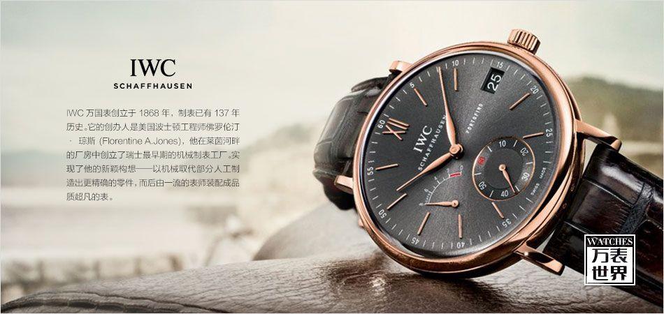 萬國手表的價位是多少?至尊奢華享受圖片