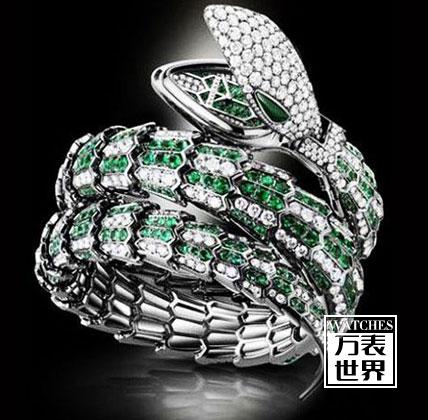 宝格丽蛇形手表报价?bvlgari蛇形腕表多少钱