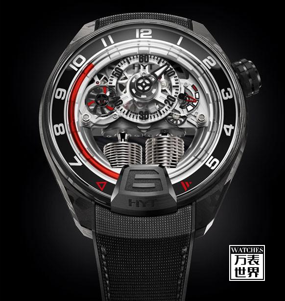 HYT 推出全新H4 Gotham光影镂空艺术腕表