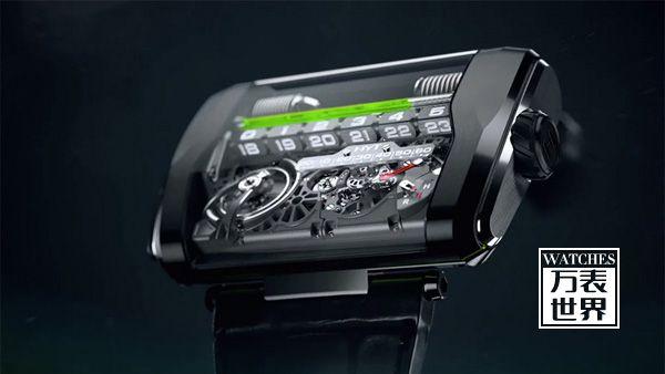 HYT推出H3 腕表:突破以往的革命性线性流体设计
