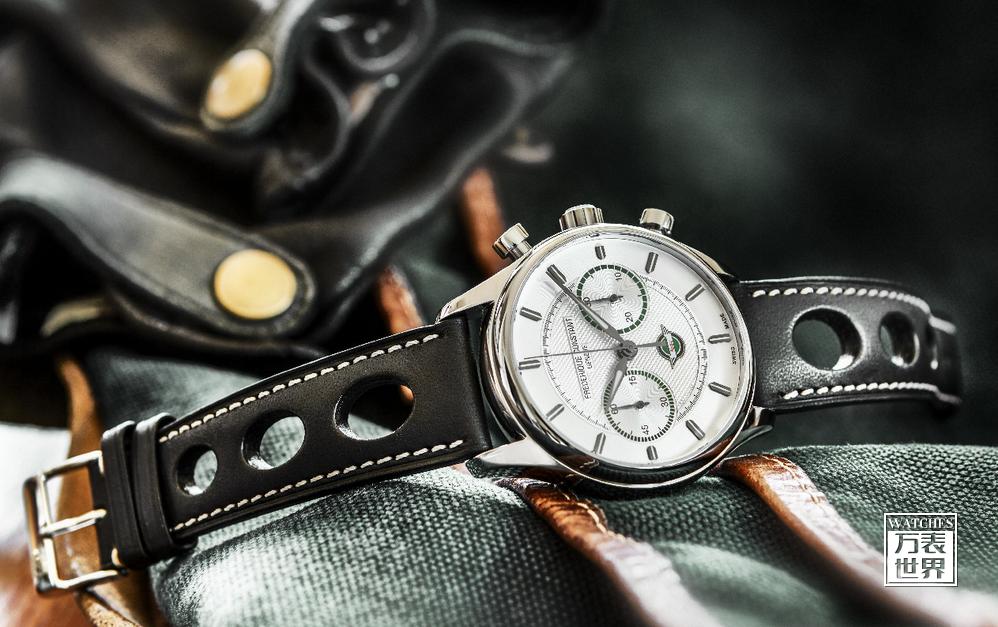 康斯登再创经典古董赛车Healey系列计时自动腕表