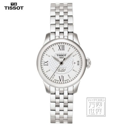 天梭TISSOT-力洛克系列 T41.1.183.33 机械女表-天梭手表经典款,天图片