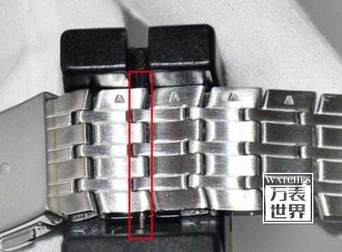 手表表链拆卸图解