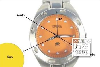 怎么利用手表辨别方向?手表辨别方向的方法